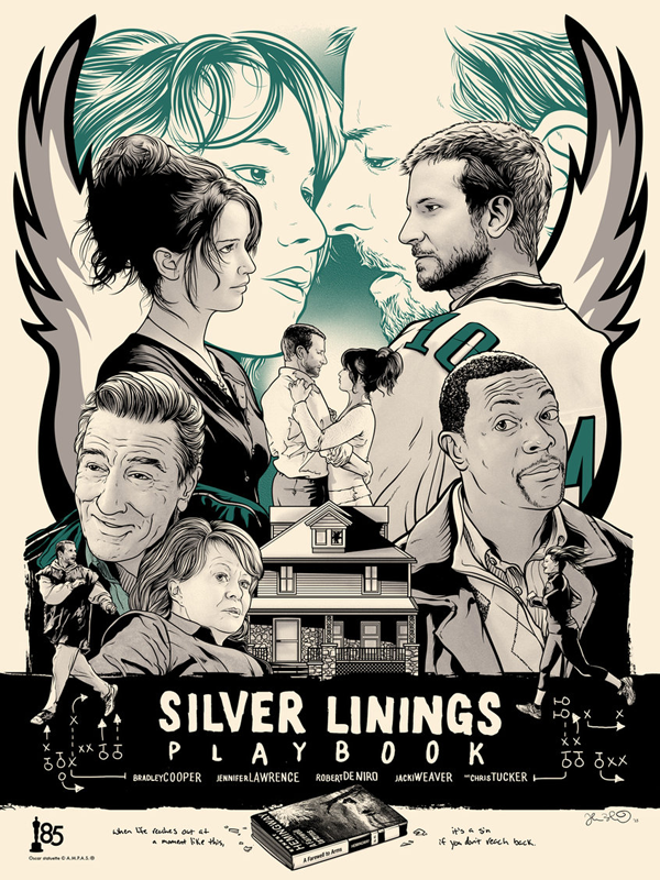 'Silver Linings Playbook' por Joshua Budich.
