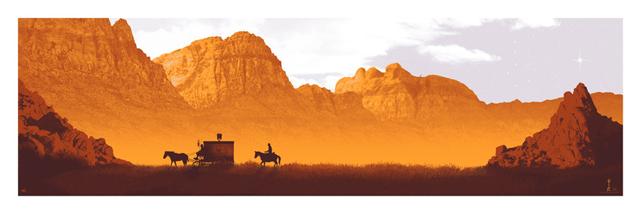 'Django Unchained' por Mark Englert.