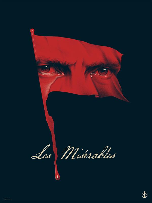 'Les Misérables' por Phantom City Creative.