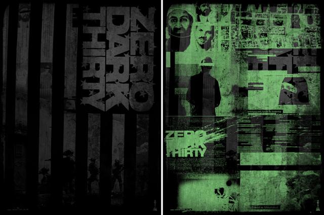 'Zero Dark Thirty' por Godmachine.